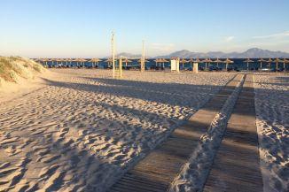 Marmári Beach beim Hotel Sandy Beach Kos