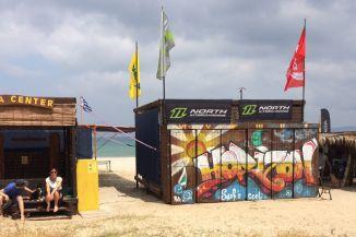 Horizon Watersports an der Troulos Beach