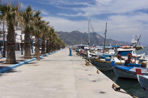 Hafenpromenade in Kardámena