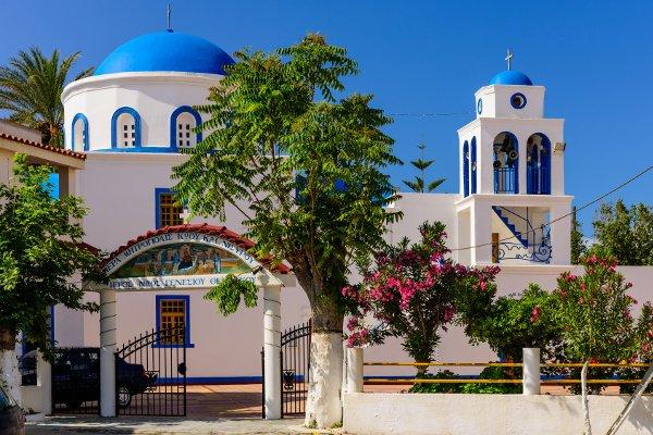 Dorfkirche Génesis tis Theotókou in Kardámena