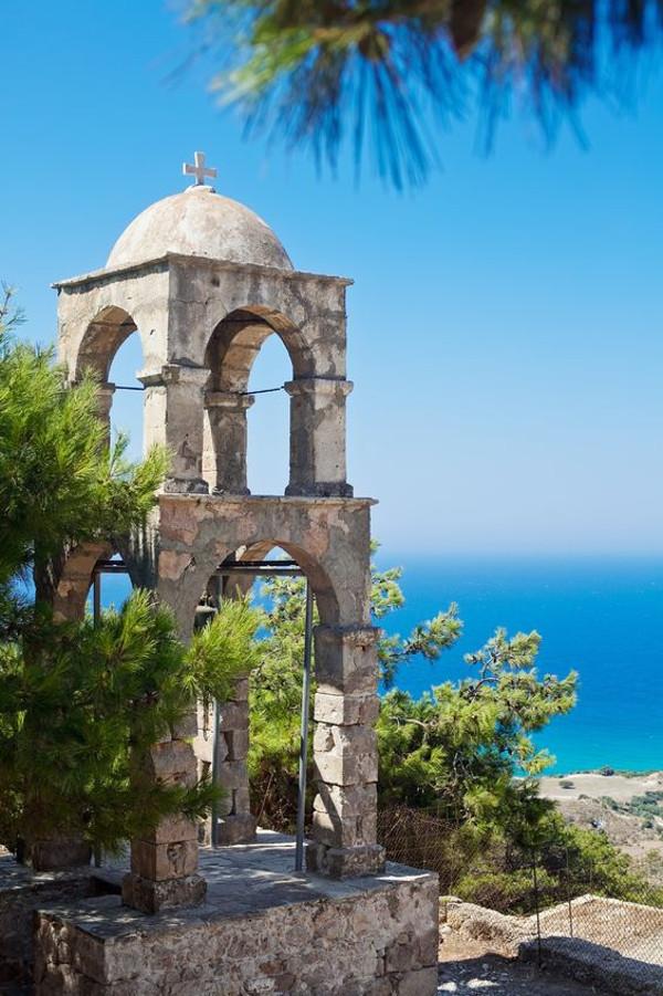 Glockenturm beim Kloster Ágios Ioánnis