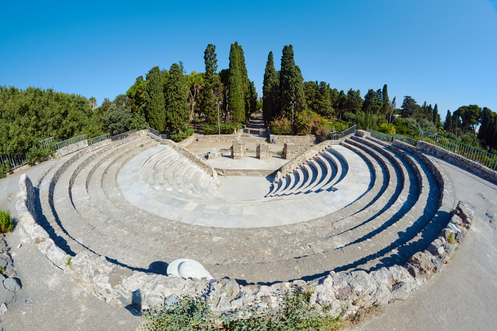 Amphitheater Odeon in Kos-Stadt