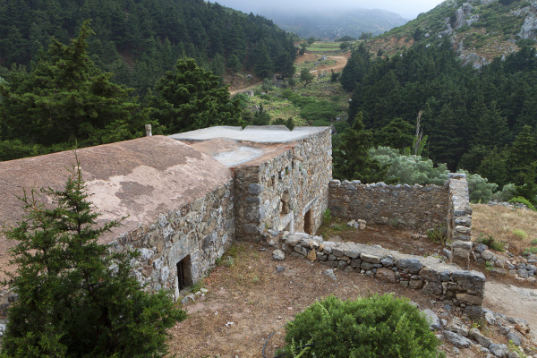 Alte Kapelle in Paléo Pýli