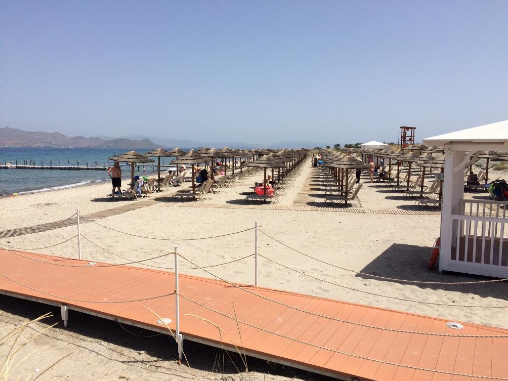 Faros Beach vor Hotel Blue Lagoon