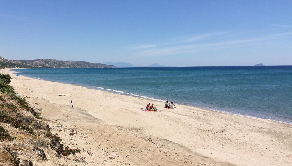 Am Strand Lagada Beach
